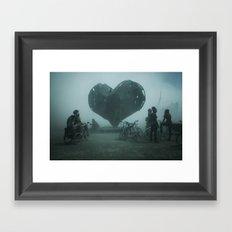 Heart Of The Storm Framed Art Print