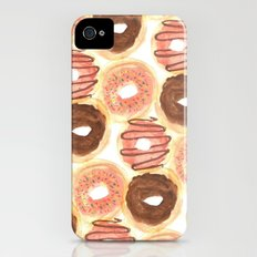 Mmm, Donuts. Slim Case iPhone (4, 4s)
