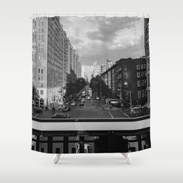 Highline View IV Shower Curtain