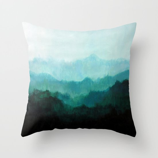 Mists No. 2 Throw Pillow