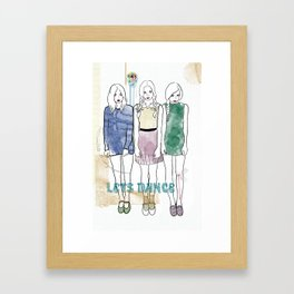 Celebrate The Irony Framed Art Print