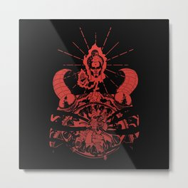 Inner Tranquility of a Warrior Metal Print