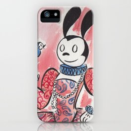 Fancy Oswald iPhone Case