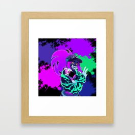 Akali - KDA - League of Legends Framed Art Print