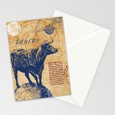 taurus   stier Stationery Cards