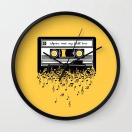 Retro Tape Wall Clock