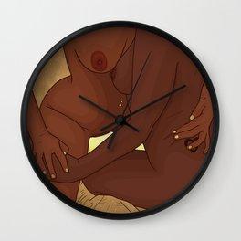 Body Heat 2 Wall Clock