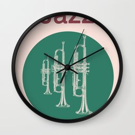 Jazz Relax Wall Clock