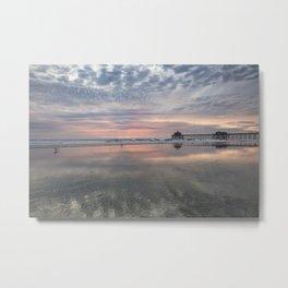 HB SUNSET 1-3-18 Metal Print