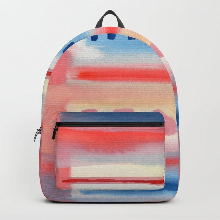 Watercolor Pastel V. G. 01 Backpack