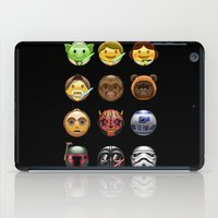 emoji iPad Cases featuring Emoji Wars by Vincent Trinidad