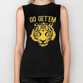 Go Get'em Tiger Biker Tank
