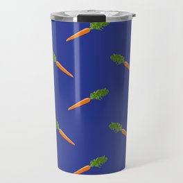 a basket full of carrots Travel Mug