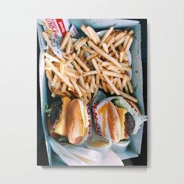 Delicious Fast Food Metal Print