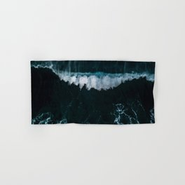 Wave in Motion - Ocean Photography Hand & Bath Towel