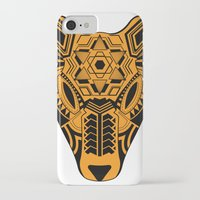 jaguar iPhone & iPod Cases featuring jaguar by danta