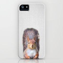 Squirrel - Colorful iPhone Case