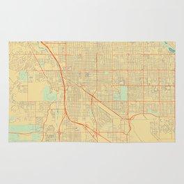 Tucson Map Retro Rug