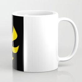 Abstract. Yellow Ribbon. Coffee Mug
