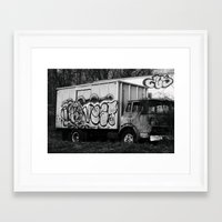 truck Framed Art Prints featuring Truck by N. Negron Photography