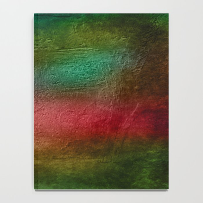 Christmas Tree on Vibrant textured background Notebook