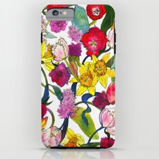 Tulips & Daffodils  Tough Case iPhone 6 Plus