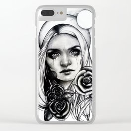 Vital Decay Clear iPhone Case