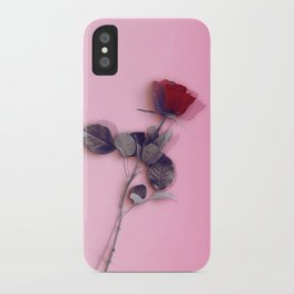 LA ROSE ROUGE iPhone Case