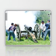Civil War era canon fire Laptop & iPad Skin