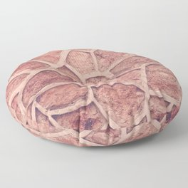Stone Abstract Floor Pillow