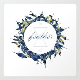 feather Art Print