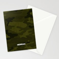 Modern Woodgrain Camouflage / Greenwoods DPM Stationery Cards