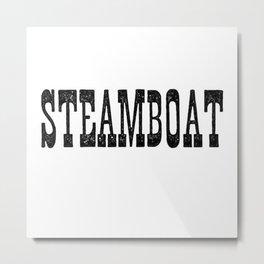 Steamboat Metal Print