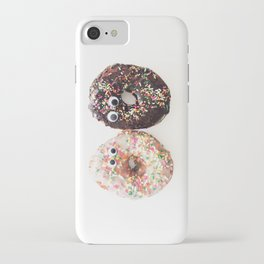 Donut Conversation Food Photography iPhone Case