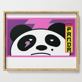 Bad Panda Serving Tray