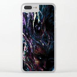 deep sleep Clear iPhone Case