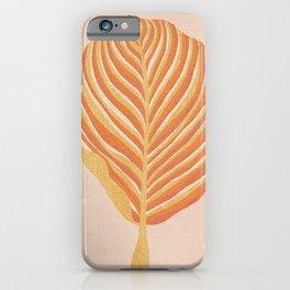 Magic Leaf iPhone Case