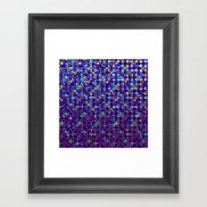Polka Dot Sparkley Jewels G263 Framed Art Print