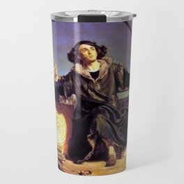 Matejko-Astronomer Copernicus-Conversation with God Travel Mug