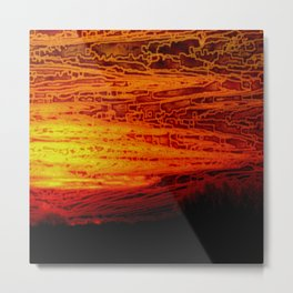 Sunset VI Metal Print