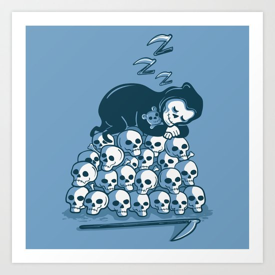 Grim Sleeper Art Print