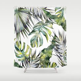 TROPICAL GARDEN 2 Shower Curtain
