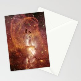 Star Clusters Space Exploration Stationery Cards