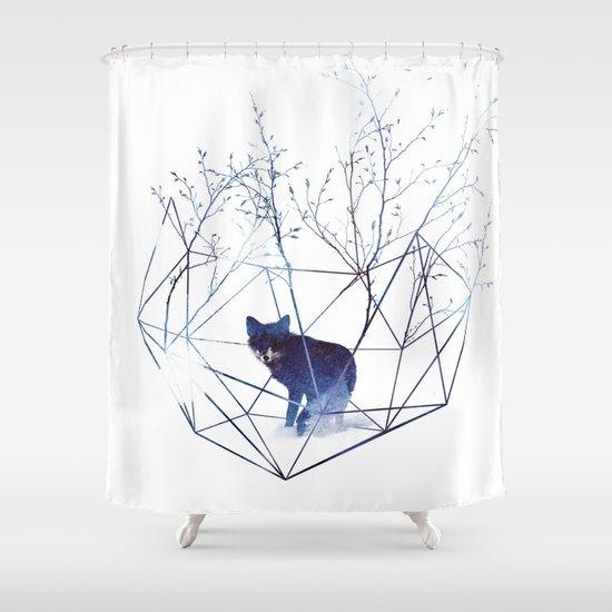 Organic Prison Shower Curtain By Robert Farkas Society6
