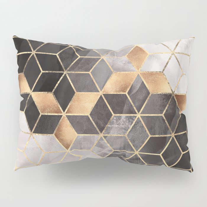 Smoky Cubes Pillow Sham