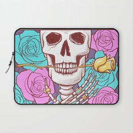 The Death of Art Laptop Sleeve