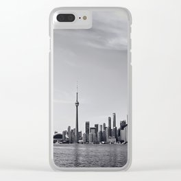 Toronto Skyline Clear iPhone Case
