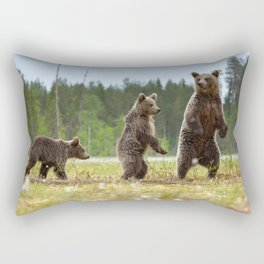 Three bears Rectangular Pillow