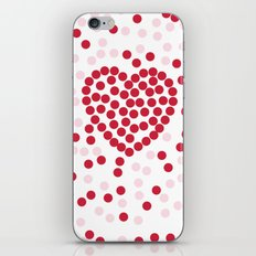 giving hearts giving hope: dots iPhone & iPod Skin