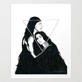 Sereias Art Print